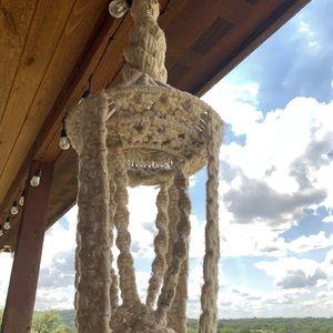 Other - Handmade BOHO macrame plant hanger